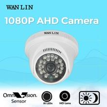 WANLIN Камеры AHD AHD 1080 P 2.0MP Камеры Наблюдения Мини Крытый 3.6 мм Объектив 2.0MP Камеры Безопасности