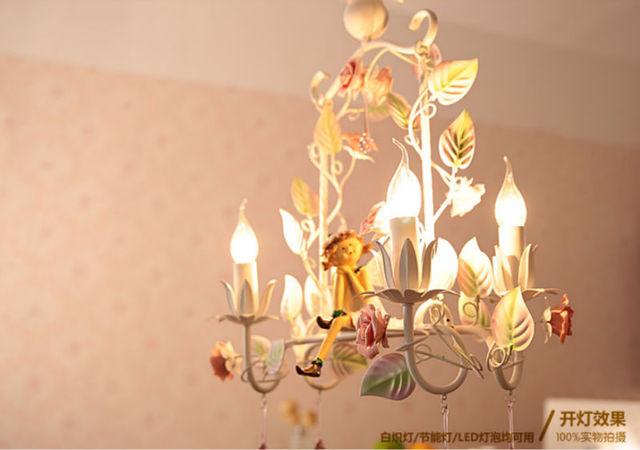 Kronleuchter Mit Engeln ~ Kreativität kerze kronleuchter restaurant pastoralen stil