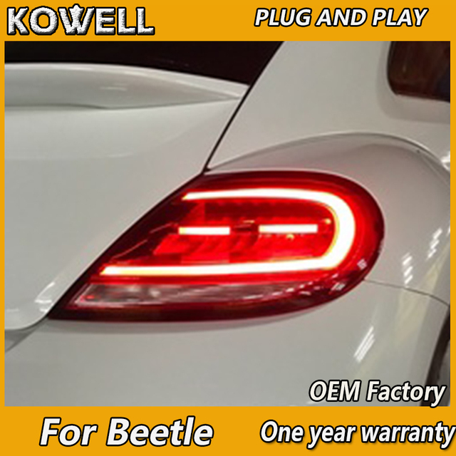 Kowell Car Styling For Vw Beatles 2017 2018 Tail Lights North America Design Led