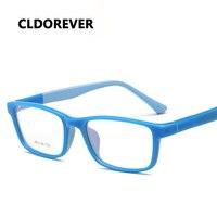 High Quality Silicone TR90 Student Eyeglasses Super Light Spectacle Frame Children Cute Optical Glasses Frame Kids
