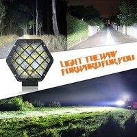 2 предмета высокое Яркость LED Освещение свет крыши Лампы для мотоциклов изменение света открытый приключения лампа для внедорожников внедо...