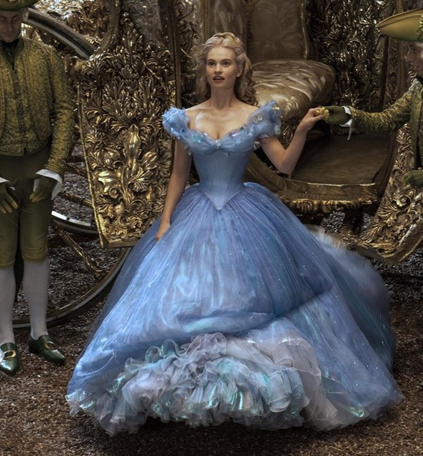 Vestido Formatura Longo 2017 Y V Neck Short Sleeved Fluffy Blue Cinderella Party Dress