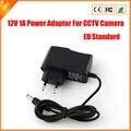 Ac 100 - 240 V DC 12 V 1A EU Plug AC / DC adaptador de carregador para câmera CCTV ( 2.1 mm * 5.5 mm )