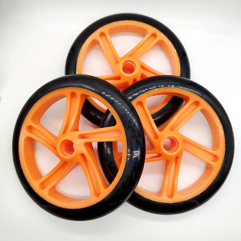 Envío Gratis scooter rueda 200*29 Mm 3 unids/lote ABEC-5