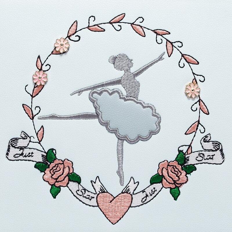 Ballet Sj pu À rose Sacs Ciel Messenger Femmes Snowjenny Braccialini Noir Marque Borsa Épaule Totes Femme Sac Broderie Main waxAUSOvAq