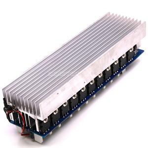 Image 4 - Zmontowana płyta wzmacniacza mocy 1200W Mono tablica wzmacniacza Audio HiFi z radiatorem