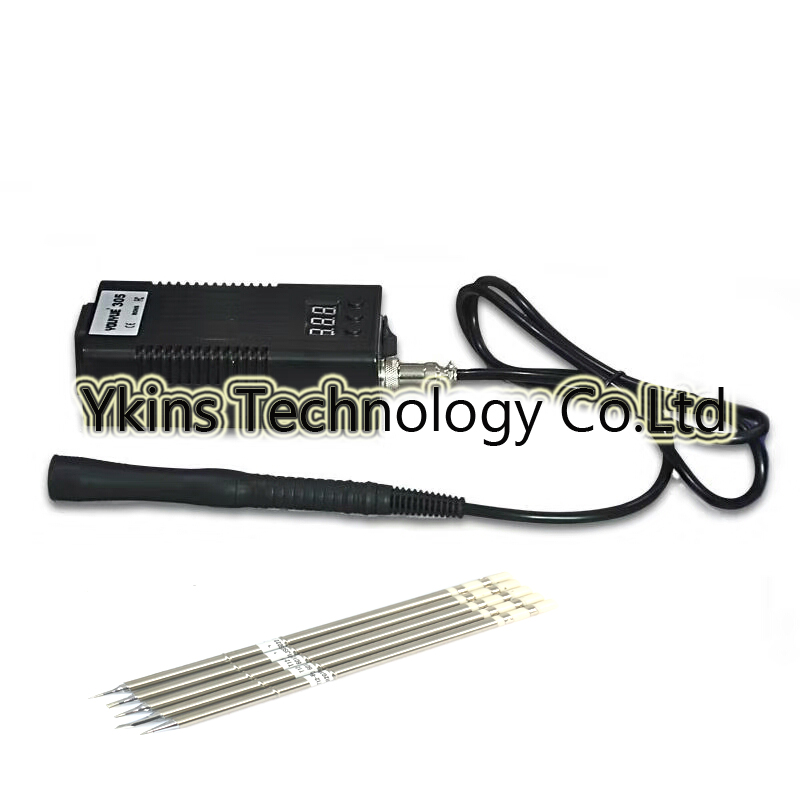 YOUYUE305 mini Portable digital Soldering Station with soldering iron handle (T12/T13) solder tip or T12 ILS/BL/BC2/D24/K tips soldering station soldering iron tip t12 soldering iron solder tip t12 1405 1406 for hakko