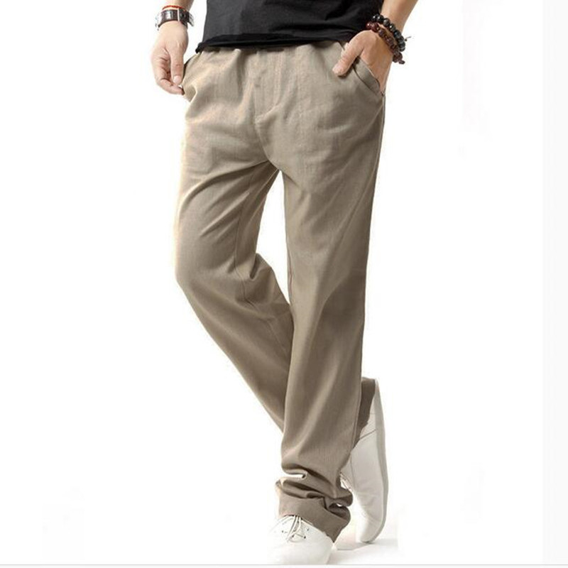 LEFT ROM νέα Μοντέρνο ανδρικό παντελόνι - Ανδρικός ρουχισμός - Φωτογραφία 4
