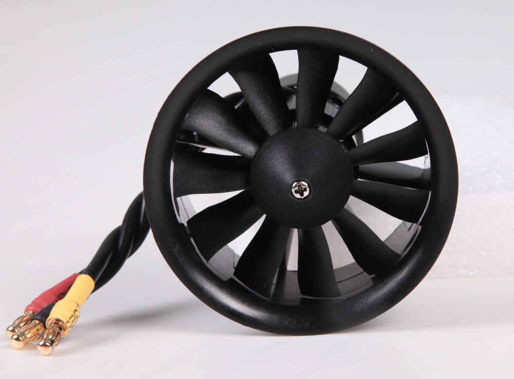FMS 50mm 11 Blades Ducted Fan EDF Unit With 2627 KV4500 (4S) / KV5400 (3S) Motor (optional) For RC Airplane Model Plane Parts