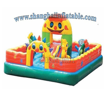 Outdoor fun city, inflatable bouncy castle, inflatable jumping castle,inflatable slide for kids