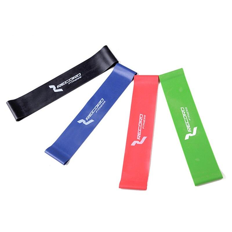 Resistance Band Set 4 Levels verfügbar Latex Gym Krafttraining Gummibänder Fitness CrossFit Ausrüstung Versandkostenfrei