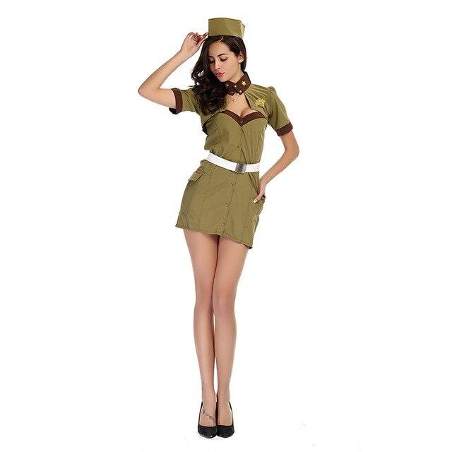 Vestito militare donna