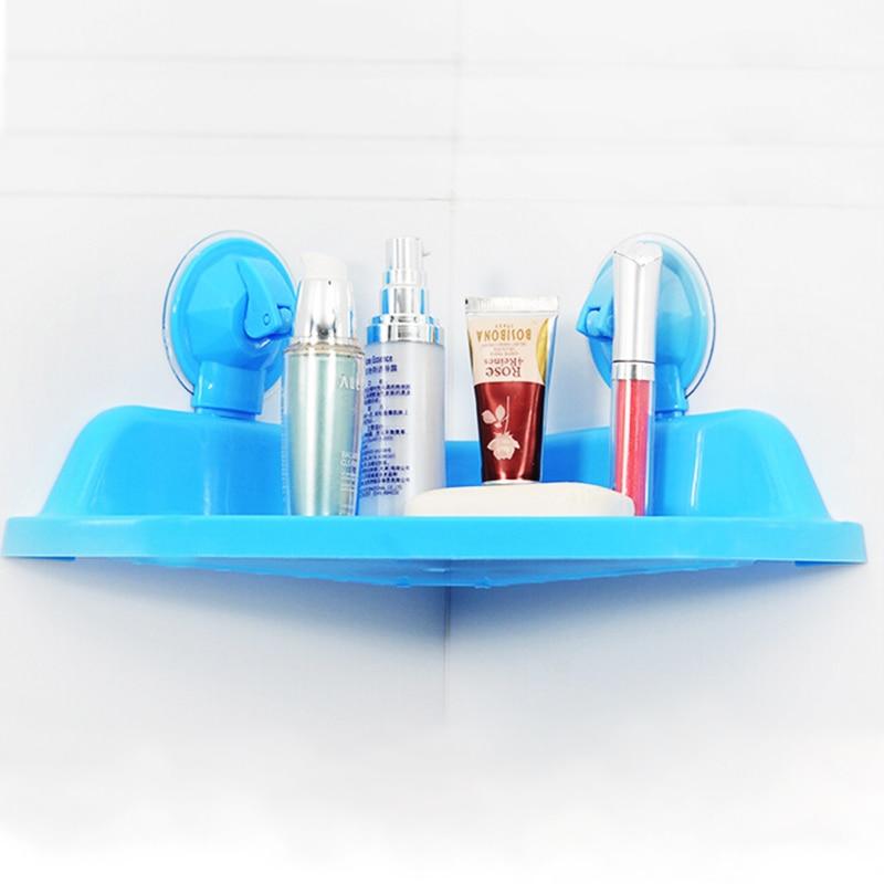 Zeegle Wall Shelves Durable Cosmetic Rack Shelf Portable Bath Shampoo Storage Strong Tripod Bathing Supplies In Holders Racks From Home