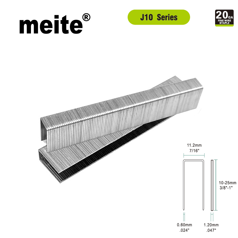 Meite 5000pcs J10 Staples U-type Nail 20GA Fine Wire Staple For 1013J/ 1022J