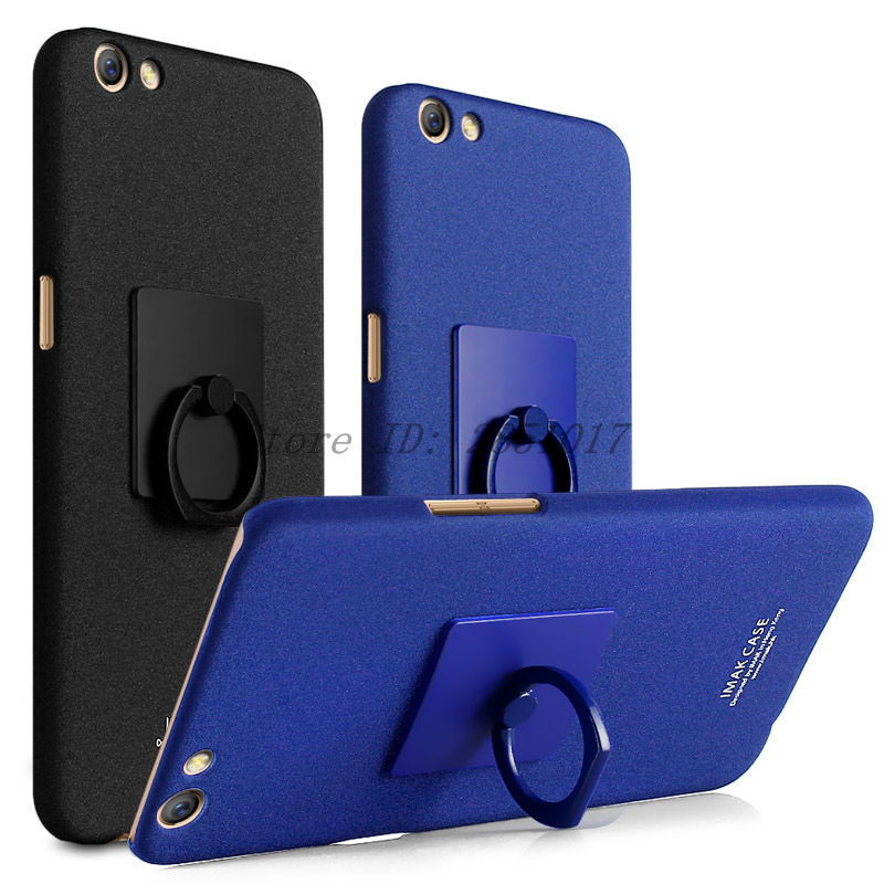 OPPO F3 Case OPPO A77 Cover 5.5 inch Imak Cowboy OPPO F3 / A77 Hard PC Back Cover Case With Ring Holder