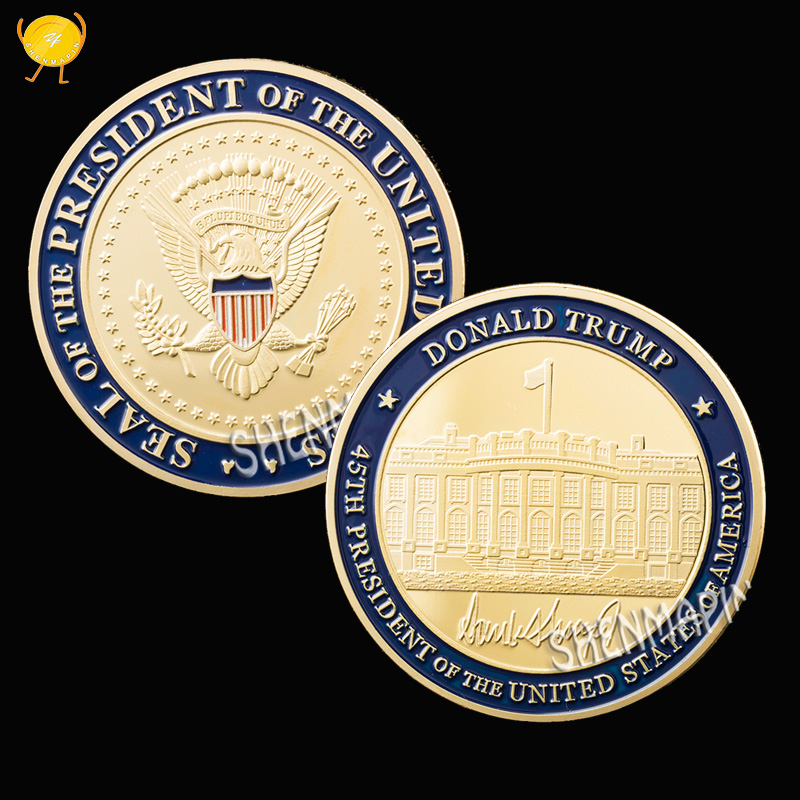 Donald Trump Presidential Inauguration Challenge Coin best