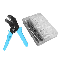 900pcs JS-XH 2.54mm Wire Connector Terminal Kit Crimping Tool Crimper Plier Set