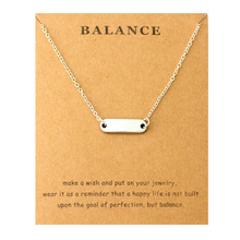 купить Balance Infinity Love Pendant Necklaces Star Moon Mountain Heart Key Owls Thank You Necklace Best Friends Gift Women Jewelry по цене 76.2 рублей