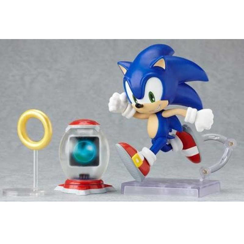 Jogo do Sonic Nendoroid 214 Bonito Figuras de Ação Brinquedos Presentes PVC Boneca Coleção Modelo