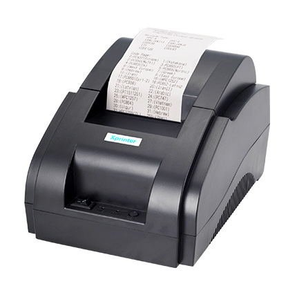 100%  original High Speed USB Port 58mm Thermal Receipt Pirnter POS printer Low Noise Mini Printer(China)