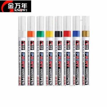 O Marker do malowania 10 kolorów/zestaw tłustej Marker G0971 komiks plakat reklama długopis signature makijaż Marker z farbą dostaw najlepszy wybór