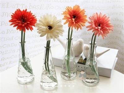 Brand New Flores Artificial Gerbera Daisies 10 Colors Plastic
