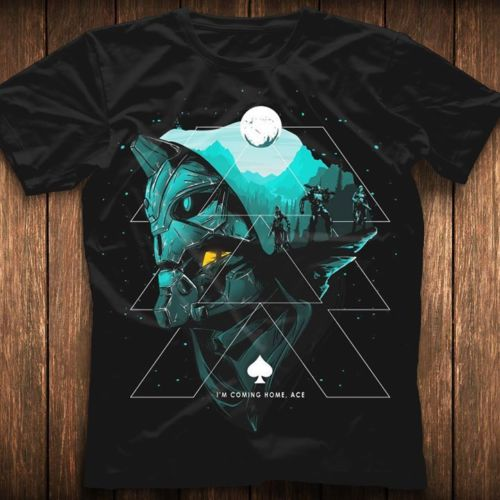11f383b182d Detail Feedback Questions about Guardian Hunter T Shirt Destiny Game Shirt  Black Cotton Men Size T Shirt Cool Casual pride t shirt men Unisex Fashion  tshirt ...