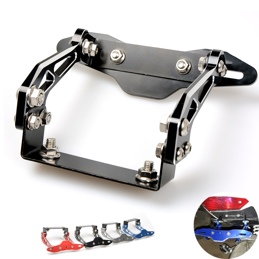 Fender Eliminator motorcycle License Plate Bracket Ho Tidy Tail Universal For Ducati S4RS 749 S R For MV F4 RR MULTISTRADA 1200 motorcycle tail tidy fender eliminator registration license plate holder bracket led light for ducati panigale 899 free shipping