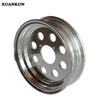 XUANKUN Monkey Bike Small Monkey Motorcycle Modified Accessories 10 Inch 8 Hole Vacuum Aluminum Rims Aluminum