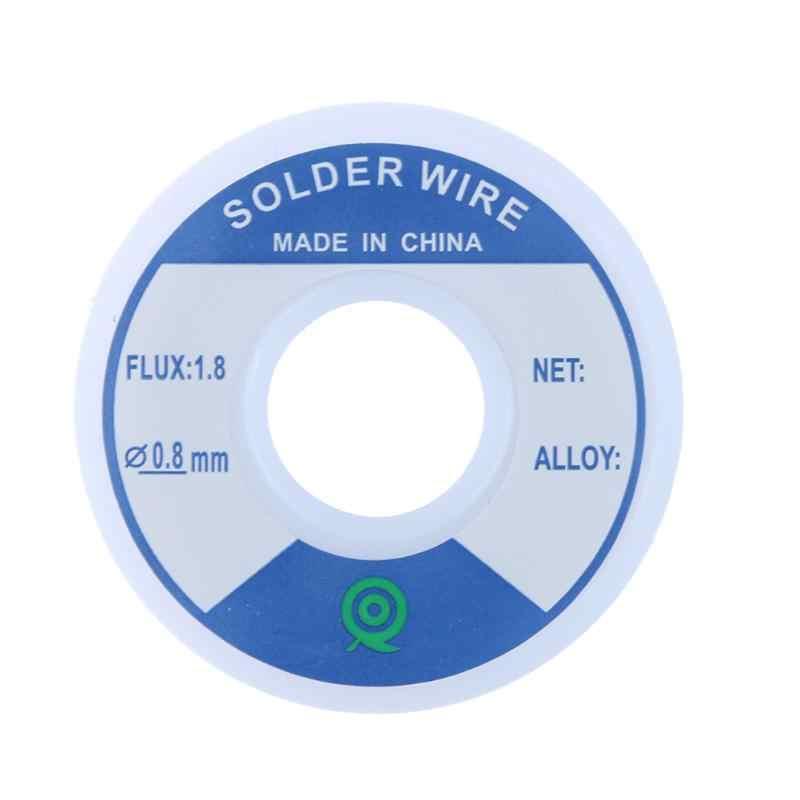 سلك لحام الفضة خالية من الرصاص 3% الفضة 0.8 مللي متر المتكلم Speaker بها بنفسك المواد المستخدمة على نطاق واسع في لوحة دوائر كهربائية الأجهزة الإلكترونية وغيرها
