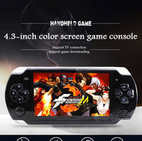 X6 Pocket nostalgic big screen game console handheld video arcade children