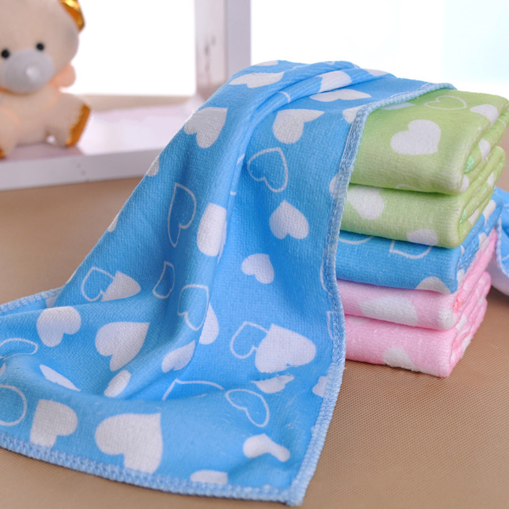 Baby Superfine Fiber Gauze Towel Kid Bath Towels Washcloth Square Towel Children Kitchen Bathroom Wipe Wash Cloth 25*50cm