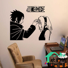 Naruto Vinyl Wall Decal Japanese Catoon Naruto Mural Art Wall Sticker Living Room Kid's Bedroom Wall Sticker Decorative Decor