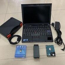 Новейший Odis инженер e-lsawin с ноутбуком X201T планшет 500G HDD и для audi Авто диагностический инструмент OKI Bluetooth VAS5054A VAS