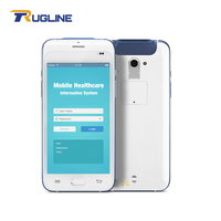 New Arrival Android 6.0 Logistic Mobile Computer Healthcare PDA With Barcode Scanner Fingerprint Reader And NFC Reader