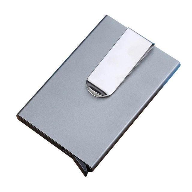 Men Women Aluminum Slim Id Credit Card Protector Holder Purse Wallet Thin Business Case Bank Package 121