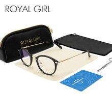 Королевская девушка, синий светильник, блокирующие очки, анти-напряжение глаз, головная боль, сон, лучше, компьютер, очки для чтения, UV400 линзы, OS018