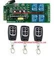 Бесплатная Доставка AC85V 250 В 110 В 220 В 240 В 4CH РФ Беспроводной Реле Дистанционного Управления Переключатель Системы Безопасности 315/433 МГЦ