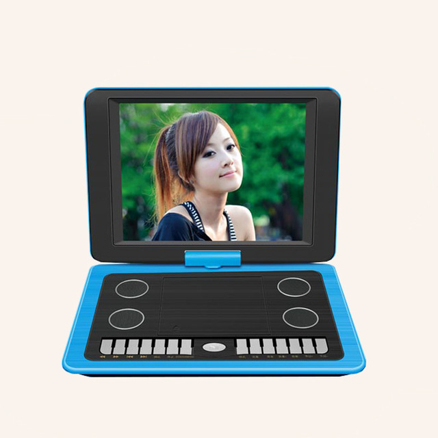 Factory direct selling mobile DVD13.8 inch HD DVD player DVD TV