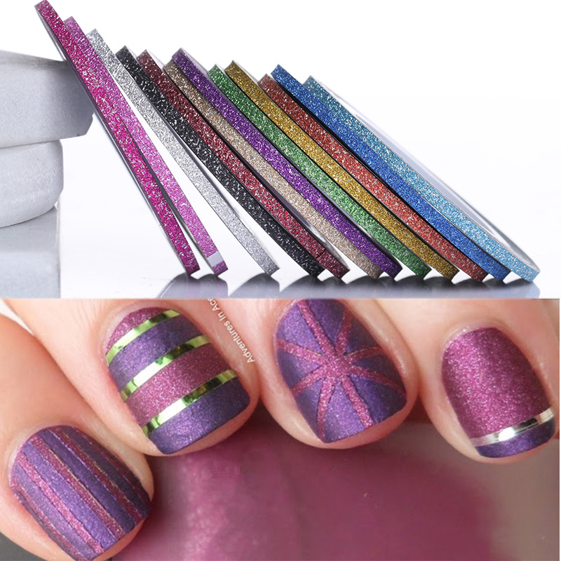 Aliexpress.com : Buy 12pcs/lot Mix 30 Colors Glitter Nail