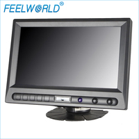 8 800x480 TFT LCD Touch Monitor With HDMI VGA Video Audio FW819AHT