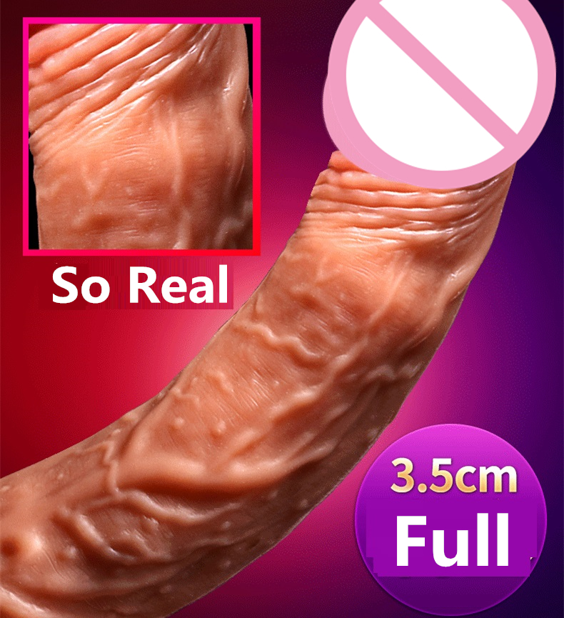 Wireless Vibrating Heating Dildo with Rotation or Up and Down G spot Vaginal Clit Stimulation inch