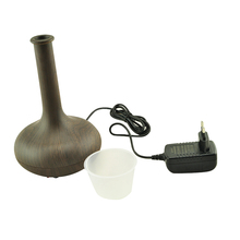 NEW Woodgrain Aroma therapy Ultrasonic Air Humidifier Diffuser Ionizer Facial Skin Care US EU Standard High
