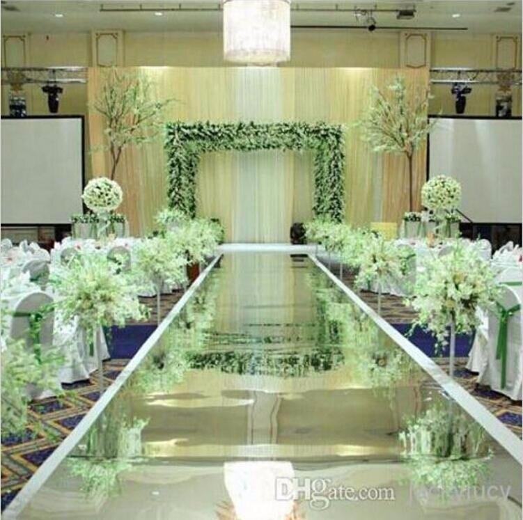 10м / ролл Luxury Wedding Centerpieces Алтын күміс - Мерекелік және кешкі заттар - фото 3