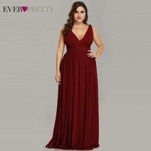Ever Pretty Plus Size Bridesmaid Dresses 2019 Vestidos Elega