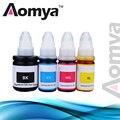 Набор чернил Aomya для заправки чернил GI490 4 вида цветов  совместимый с Canon Pixma G1400 G2400 G3400 G1000 G2000 G3000