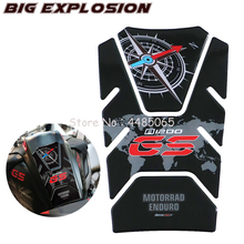 Motorcycle stickers 3D Fuel Gas Tank Pad Protector Case for BMW R1200GS R1200 GS Adventure ADV 2014-2018