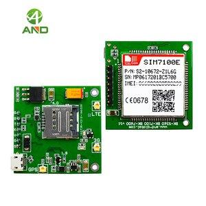Image 1 - 4g SIM7100E لوحة القطع ، LTE شبكات اختبار المجلس في أوروبا الغربية مع وحدة SIM7100E ، B1 B3 B7 B8 B20