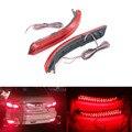 2 Pçs/lote Carro Styling LEVOU Choques Refletor Traseiro Luzes de Freio Parada Lâmpada De Advertência Nevoeiro Lâmpadas Para Nissan Almera 2013-2015 Acessórios