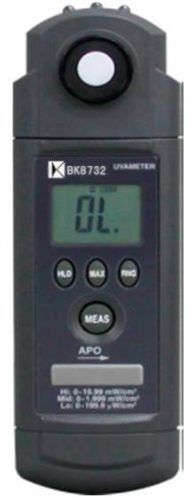 UVA ultraviolet radiation meter ultraviolet illuminance meter